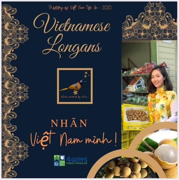 Quả nhãn Việt Nam sẽ được giới thiệu rộng rãi tại Australia
