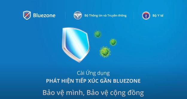 """""""Khẩu trang điện tử"""" Bluezone góp phần phòng, chống Covid-19"""