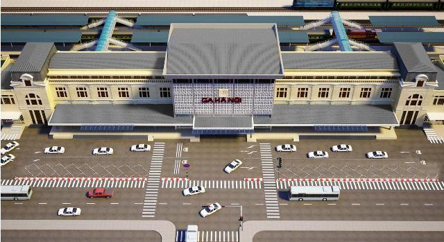 Ga đường sắt Hà Nội thu hút sự quan tâm của nhiều nhà đầu tư lớn