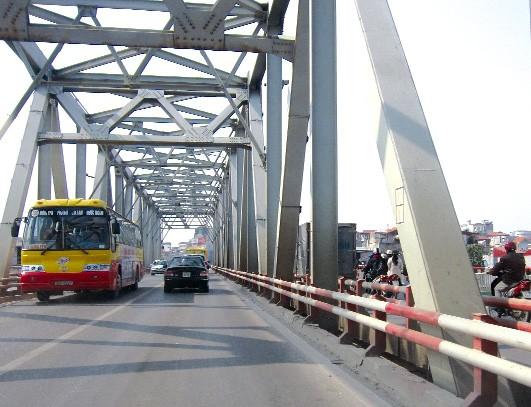 Cầu Chương Dương sẽ được sửa chữa hạng mục khe co giãn trụ T2