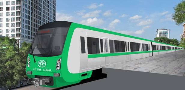 Tàu tuyến đường sắt Cát Linh- Hà Đông được đề nghị chỉnh sửa một số chi tiết so với tàu mẫu đã trưng bày ở Triển lãm Giảng Võ hồi tháng 11-2015 vừa qua