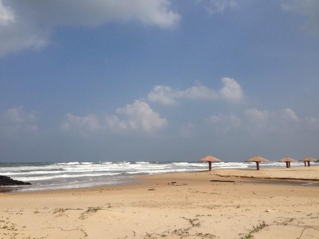 Bãi biển ở Phú Yên không quá ồn ào, náo nhiệt