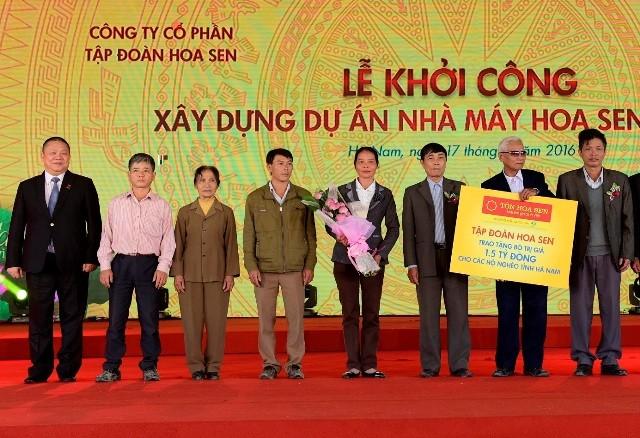 Khởi công nhà máy Hoa Sen Hà Nam hơn 3.000 tỷ đồng ảnh 2