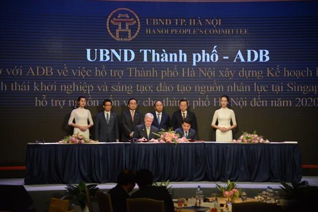 Hà Nội ký kết hợp tác với Ngân hàng phát triển Châu Á
