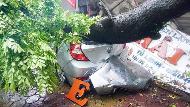 Hà Nội yêu cầu các ngành chủ động đối phó với diễn biến của bão số 3 gây mưa lớn trên địa bàn (ảnh minh họa)