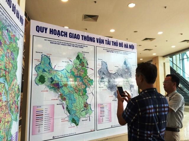 Quy hoạch GTVT Thủ đô Hà Nội đến 2030 tầm nhìn 2050 thu hút được sự quan tâm của nhiều người