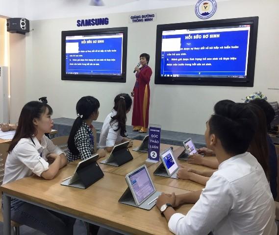 Giảng đường thông minh- Smart Shool mang lại cách dạy và học mới