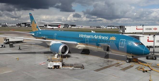 Boeing 787- một trong những máy bay hiện đại nhất mà Vietnam Airlines đang sở hữu vừa bị chim va vào động cơ