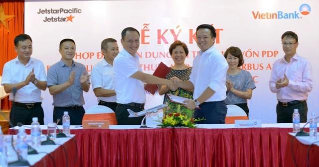 Vietinbank và Jetstar Pacific ký kết bảo lãnh 117 triệu USD mua máy bay