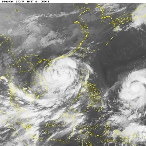 Hai siêu bão đang nối đuôi nhau tràn vào Biển Đông