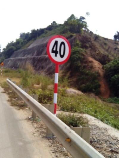 Cao tốc Nội Bài- Lào Cai đoạn qua Yên Bái chỉ được đi 40km/h