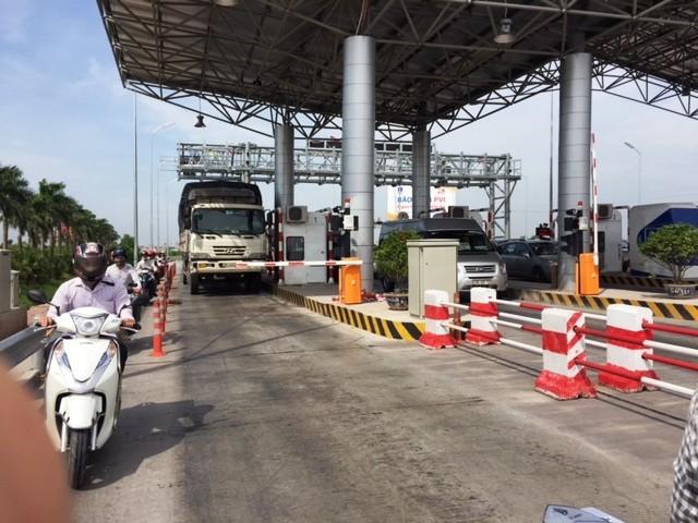 Trạm thu phí BOT Hà Nội- Bắc Giang sẽ bị giám sát thu phí trong 10 ngày