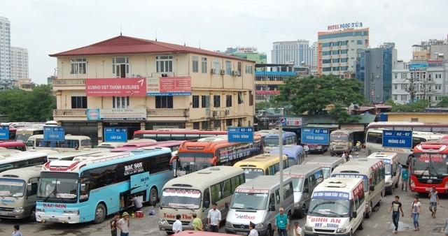 Từ 2/1/2017, Hà Nội sẽ chính thức điều chỉnh luồng tuyến hàng loạt xe khách liên tỉnh