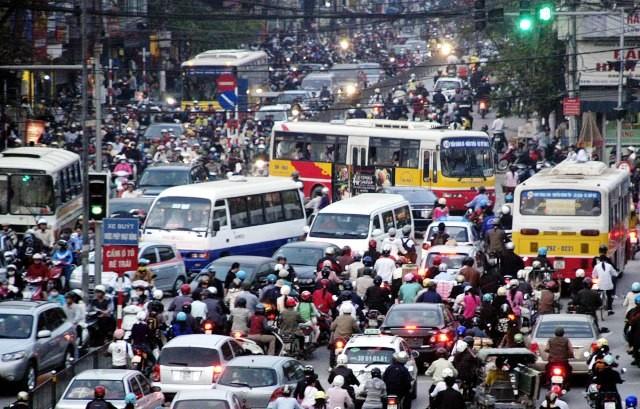 Hà Nội mở cuộc thi ý tưởng phương án tổ chức giao thông chống ùn tắc
