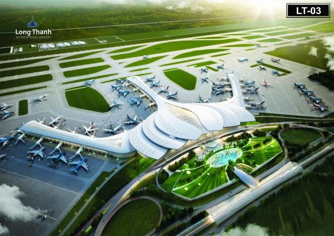 Phương án 03 về kiến trúc nhà ga sân bay quốc tế Long Thành được đa số người dân và Hội nghề nghiệp lựa chọn