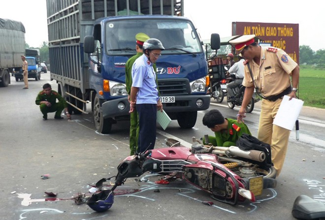 Trong tháng 2, cả nước đã có 856 người tử vong vì tai nạn giao thông