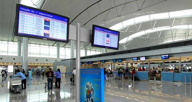 Website sân bay Tân Sơn Nhất đã bị tin tặc tấn công vào tối 8/3