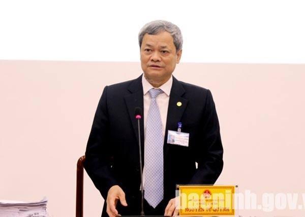 Chủ tịch UBND tỉnh Bắc Ninh Nguyễn Tử Quỳnh (Ảnh bacninh.gov.vn)