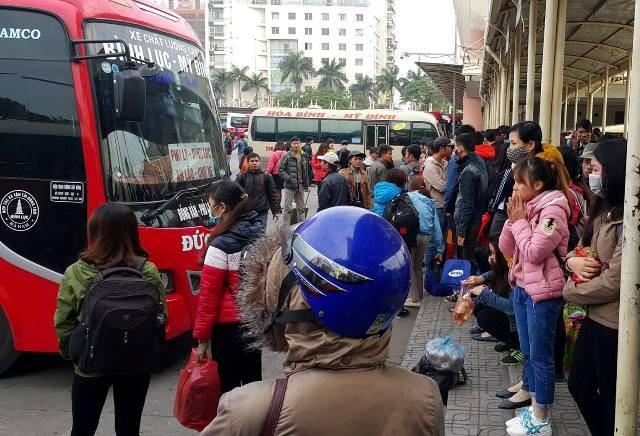 Bộ GTVT yêu cầu không tăng giá vé xe khách dịp Tết Nguyên đán 2018