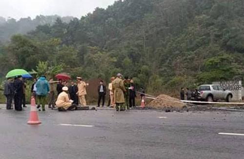 Hiện trường vụ tai nạn đặc biệt nghiêm trọng làm 5 công nhân làm đường ở Hà Giang tử vong