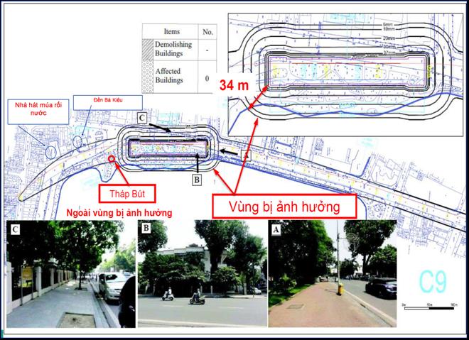 Ban Quản lý đường sắt đô thị Hà Nội: Ga ngầm C9 hồ Hoàn Kiếm không vi phạm Luật Di sản văn hóa