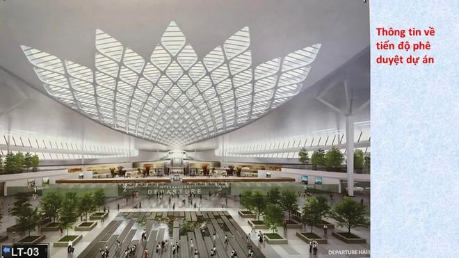 ACV kiến nghị lựa chọn thiết kế biểu tượng hoa sen cho nhà ga sân bay Long Thành