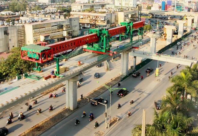 Đến nay Hà Nội vẫn chưa có tuyến đường sắt đô thị nào vận hành