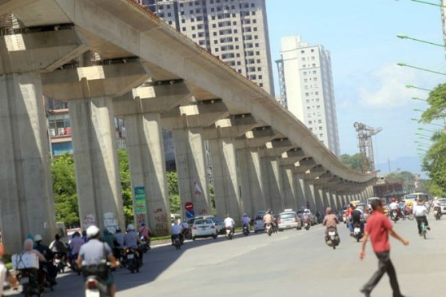 Hà Nội đang chuẩn bị nghiên cứu tuyến đường sắt đô thị số 8 dài 37km