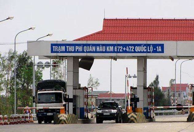 Nhà đầu tư vừa kiến nghị tăng phí trạm BOT Quán Hàu lên mức 41.000 đồng-212.000 đồng/lượt xe
