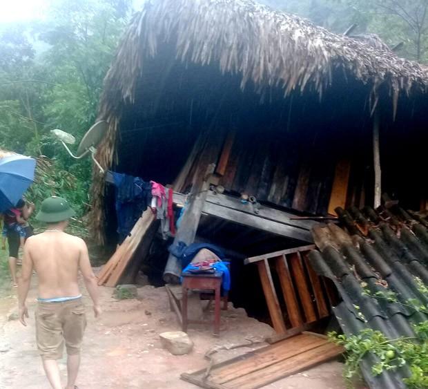 Các tỉnh miền núi phía Bắc đang phải đối mặt với mưa lớn, lũ quét, sạt lở đất gây thiệt hại lớn về người và tài sản (ảnh Mộc Lan)