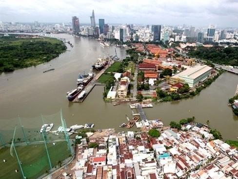 Ba cầu tàu thuộc Nhà máy đóng tàu Ba Son sẽ được chuyển đổi công năng thành bến du lịch Vinhome Ba Son