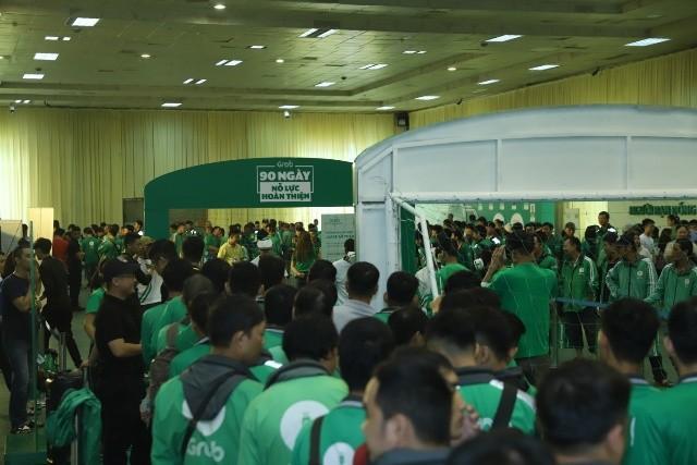 Hàng nghìn đối tác tài xế quy tụ tại ngày hội tài xế công nghệ Grab