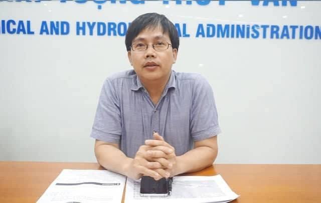 TS Mai Văn Khiêm, Phó viện trưởng Viện Khoa học Khí tượng thủy văn và Biến đổi khí hậu