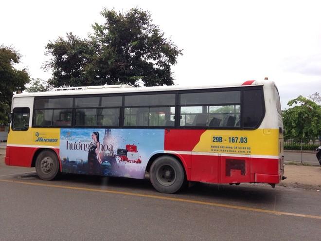 Sản lượng xe buýt Hà Nội đang tăng chậm hơn mục tiêu đưa ra