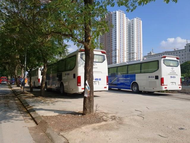 Bãi xe Quân Trung đã hết phép từ ngày 1-1-2017 đến nay
