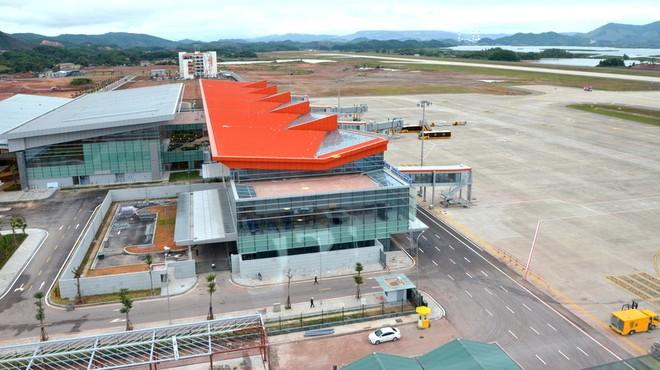 Cảng hàng không quốc tế Vân Đồn đủ điều kiện khai thác từ cuối tháng 12 này
