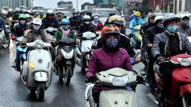 Thời tiết các tỉnh Bắc bộ tiếp tục rét đậm, rét hại do không khí lạnh liên tục bổ sung xuống