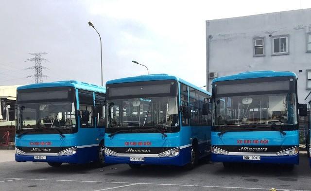 Tổng công ty Vận tải Hà Nội thay mới 60 xe thuộc bốn tuyến buýt 05, 13, 17 và 10B