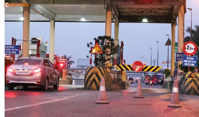 Đơn vị thu phí trạm Bắc Thăng Long cầu viện Bộ GTVT hỗ trợ đảm bảo thu phí