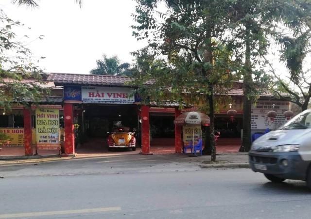 """Nhà hàng, quán ăn """"mọc"""" trên đất nông nghiệp dọc tuyến phố Linh Đường"""