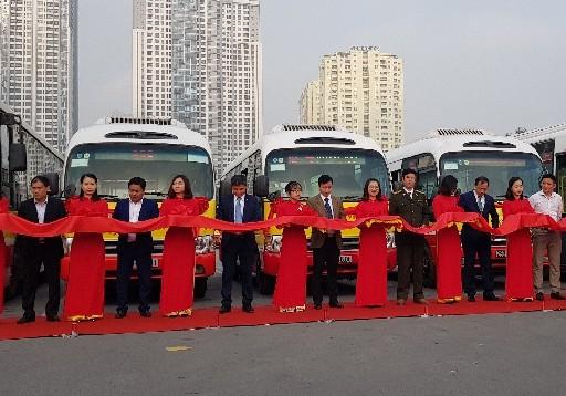 Thêm 4 tuyến buýt kết nối ở vùng ngoại thành Hà Nội
