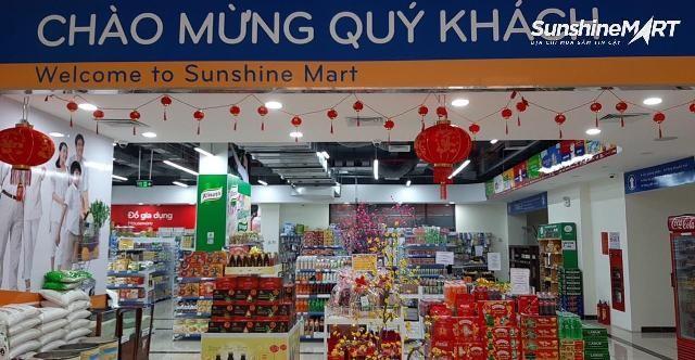 Nhân dịp Tết, Sunshine Mart gửi tặng tới khách hàng nhiều chương trình ưu đãi hấp dẫn