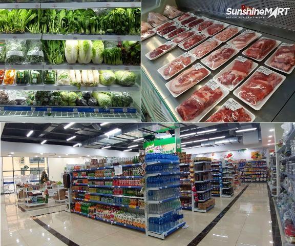 Tại Sunshine Mart, hàng ngàn mặt hàng đã được chuẩn bị sẵn sàng phục vụ khách hàng