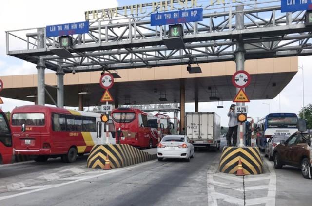 """Bộ GTVT bác đề xuất """"xả"""" trạm BOT dịp Tết Nguyên đán của Tổng cục Đường bộ Việt Nam"""