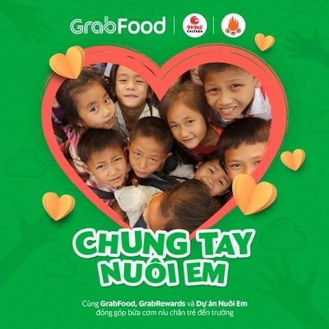 Grab và Dự án nuôi em sẽ mang 117.000 bữa ăn tới trẻ em vùng cao Tây Bắc