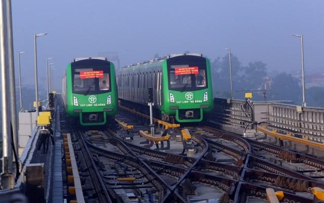 Tàu đường sắt Cát Linh- Hà Đông có chế độ chống ngủ gật đề phòng sự cố