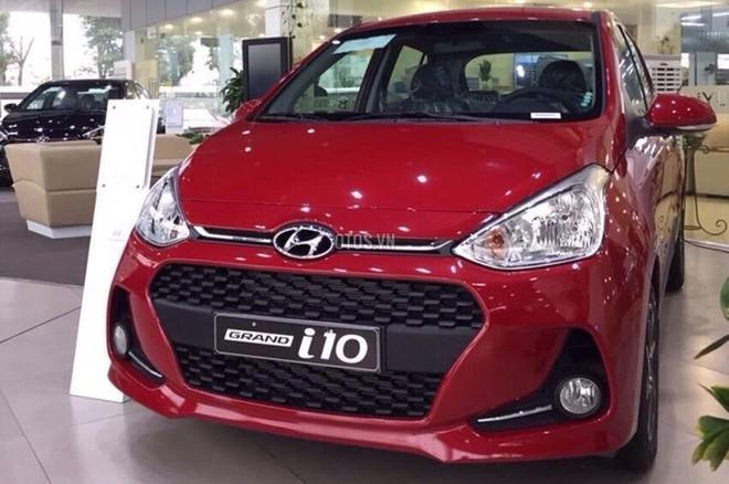 Mẫu xe Hyundai i10 vượt lên dẫn đầu trong các mẫu xe bán chạy của Hyundai Thành Công trong tháng 4/2019