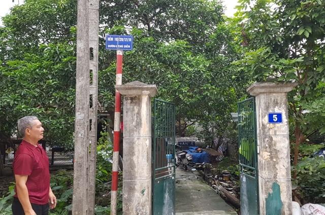 Hàng chục hộ dân bị thu hồi đất ở Khu đấu giá 3 ha Phú Diễn, quận Bắc Từ Liêm đều đã xây nhà, sinh sống hàng chục năm qua