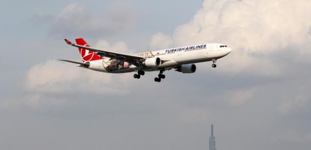 Hãng hàng không Turkish Airlines đã mở đường bay thẳng từ Thổ Nhĩ Kỳ đến Nội Bài, Hà Nội