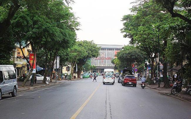 Đường Trần Hưng Đạo sẽ bị rào chắn để thi công ga ngầm S12 Nhổn- Ga Hà Nội